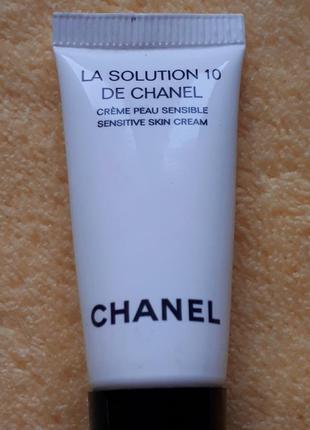 Увлажняющий крем для чувствительной кожи лица и глаз chanel la...