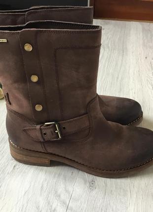 Кожаные ботинки geox, размер 38
