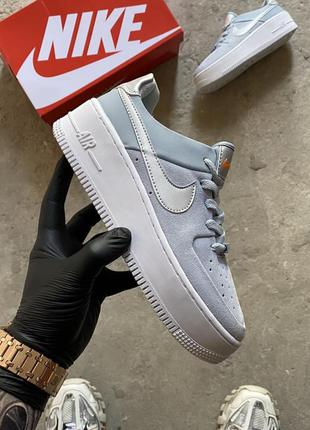Nike air force 1 sage hydrogen blue