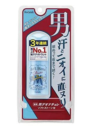 Японский мужской натуральный дезодорант-антиперспирант deonatulle