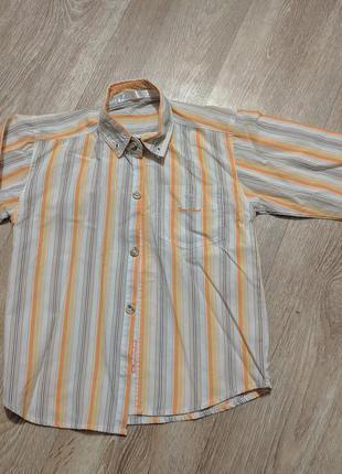 Детская рубашка на 4-5 лет