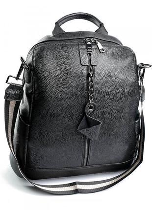 Женский кожаный рюкзак жіночий шкіряний портфель сумка кожаная...