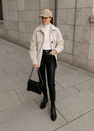 Трэндовые Ботинки Ботильоны Челси на платформе Zara -оригинал, на
