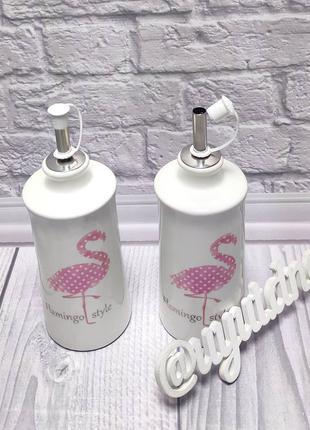 Бутылка для масла или уксуса с дозатором Керамика