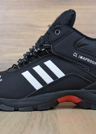 Кроссовки зимние высокие на меху  Adidas Climaproof. 3447