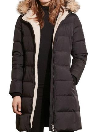 Пуховое пальто пуховик ralph lauren. размер м  л