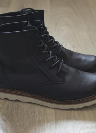 Boxfresh мужские кожаные ботинки осень/зима оригинал sale!