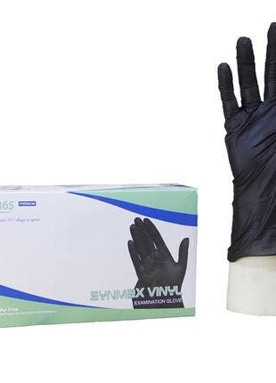 Перчатки нитрил + винил, не медицинские