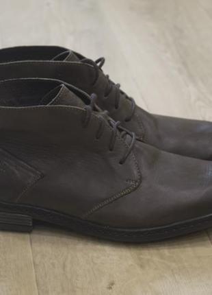 Josef seibl мужские ботинки дезерты кожа оригинал осень