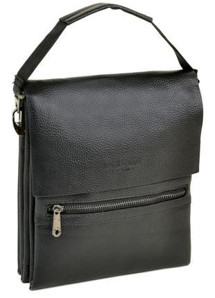 Мужская сумка-планшет bond. кожаный портфель. мужская барсетка...