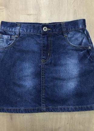Джинсовая юбка blue zoo 140 см
