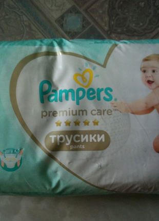 Pampers premium care pants,  3