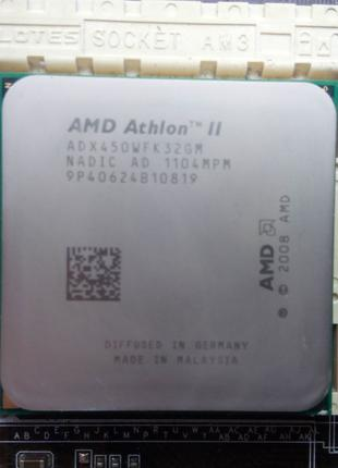 AMD Phenom II x4 B50 разлоченный Athlon II X3 450