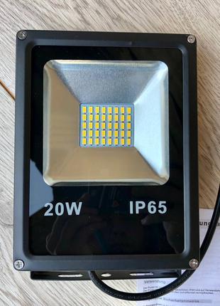 HENGDA 20Вт, прожектор світлодіодний IP65, светодиодный прожектор