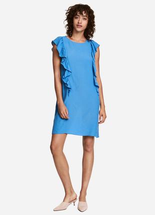 Красивое платье,туника,рубаха с рюшами,воланами по боку,этно,б...