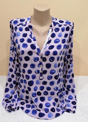Вискозная яркая блузка cartoon