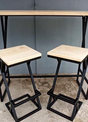 Стол, стул, мебель в стиле лофт Loft design