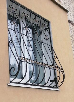 Решётки на окна двери балконы
