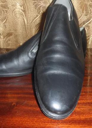 Мужские кожаные туфли 46 р