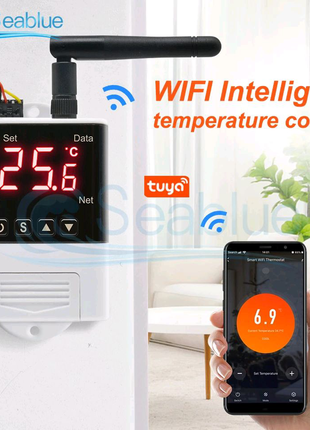 WiFi терморегулятор