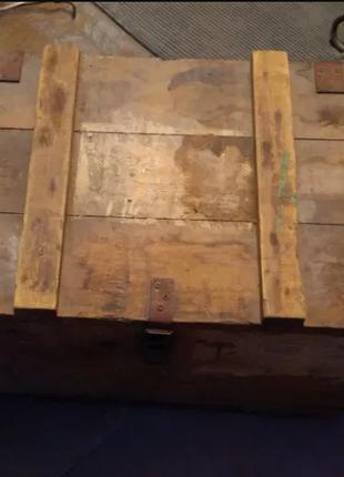 Ящик деревяный