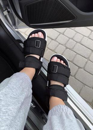 Adidas adilette  sandals black женские сандалии босоножки черног