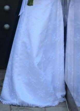 Свадебное платье б/у 48-50 р.