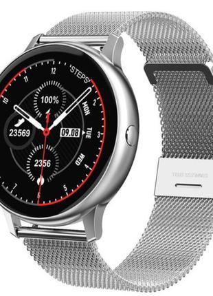 Умные часы Smart DT88 Pro Metal тонометр, пульсометр, сатурация