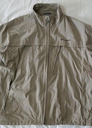 .куртка ветровка columbia.