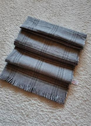 Primark теплый шарф в клетку палантин шарф-плед шарф унисекс
