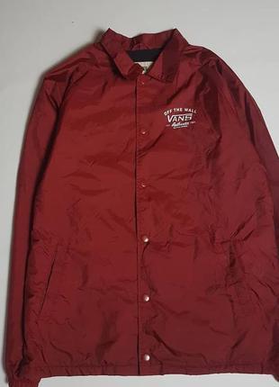Крутейший мужской coach jacket vans (ветровка vans)