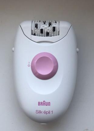 Эпилятор Braun Silk Epil 1