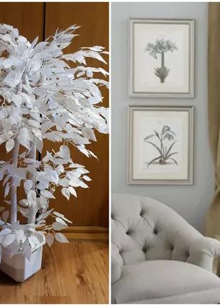 Искусственное белое дерево