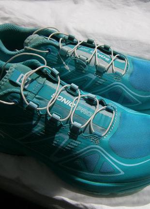 Кроссовки salomon sonic pro blue trainers shoes - aw16 379174 ...