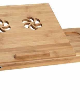 Стол для ноутбука,планшета деревянный