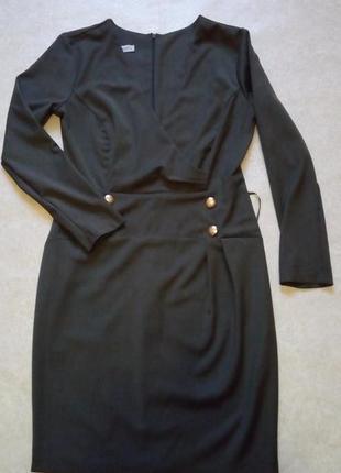 Женственное платье, отличный вариант для офиса, m-l
