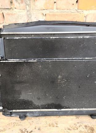 Радиатор основной кондиционер диффузор вентилятор Lexus RX 450...