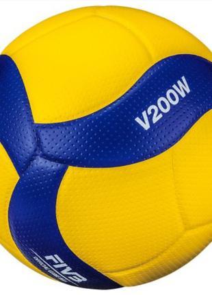 Волейбольный профессиональный Мяч Mikasa V200W (ORIGINAL)