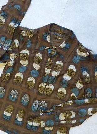 Суперская винтажная шелковая блуза от