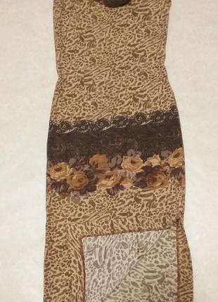 Облегающее красивое платье с боковым разрезом christel breznik...