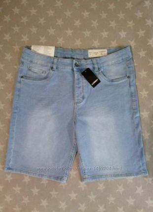 Мужские джинсовые шорты бермуды Livergy Германия