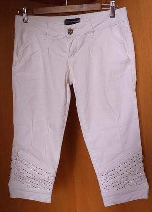 Dolce & gabbana оригинал белоснежные нарядные коттоновые бридж...