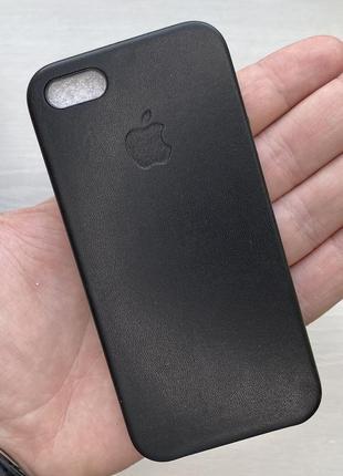 Чехол оригинальный черный чохол на для айфон iphone 5 s se плю...