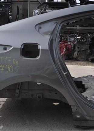 Четверть крыло задняя правая Chevrolet Volt 16- графит