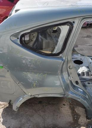 Четверть крыло задняя правая Honda CRV 12-16 зеленая