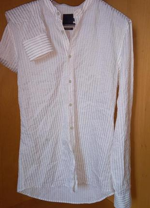 Riccovero slim fit мужская рубашка