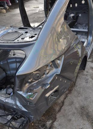 Четверть крыло задняя правая Hyundai Elantra AD 17- графит, тычка