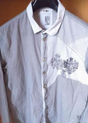 Riccardo cavaletti , мужская рубашка от итальянского дизайнера...