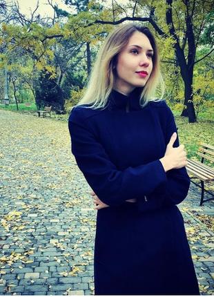 Итальянское чистошерстяное пальто