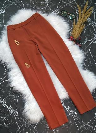 💛 классические укороченные брюки терракотового цвета 💛